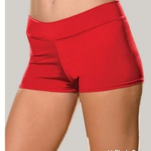 NEW ROXIE RED Basic knit hot short with Elastic waist size 3X,4X